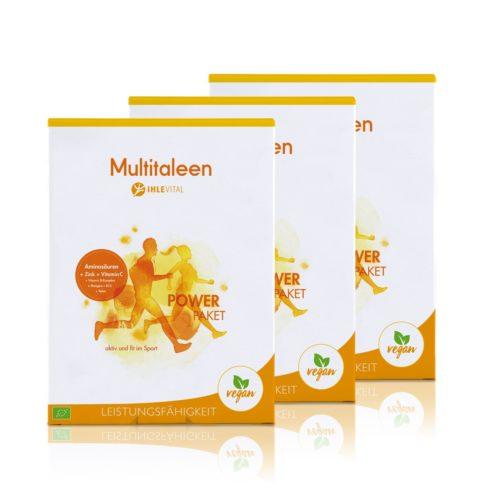 Multitaleen, Ihlevital, basisch, Bio, Säure Basen Kur, Immunsystem, B Vitamine, Aminosären, B12, Mangan, Zink, Selen, Inulin, Produktbild, Kölner Liste