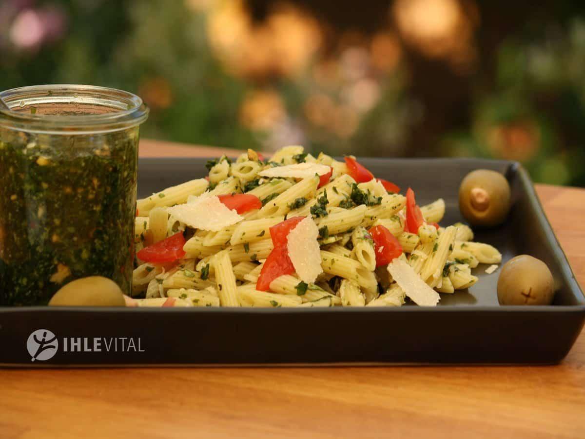 Pesto Piccolini Nudel Salat