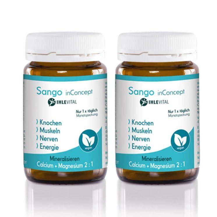 Sango, Sango Koralle, Ihlevital, Säure Basen Kur, Calcium und Magnesium, Osteoporose, basisch, Produktbild