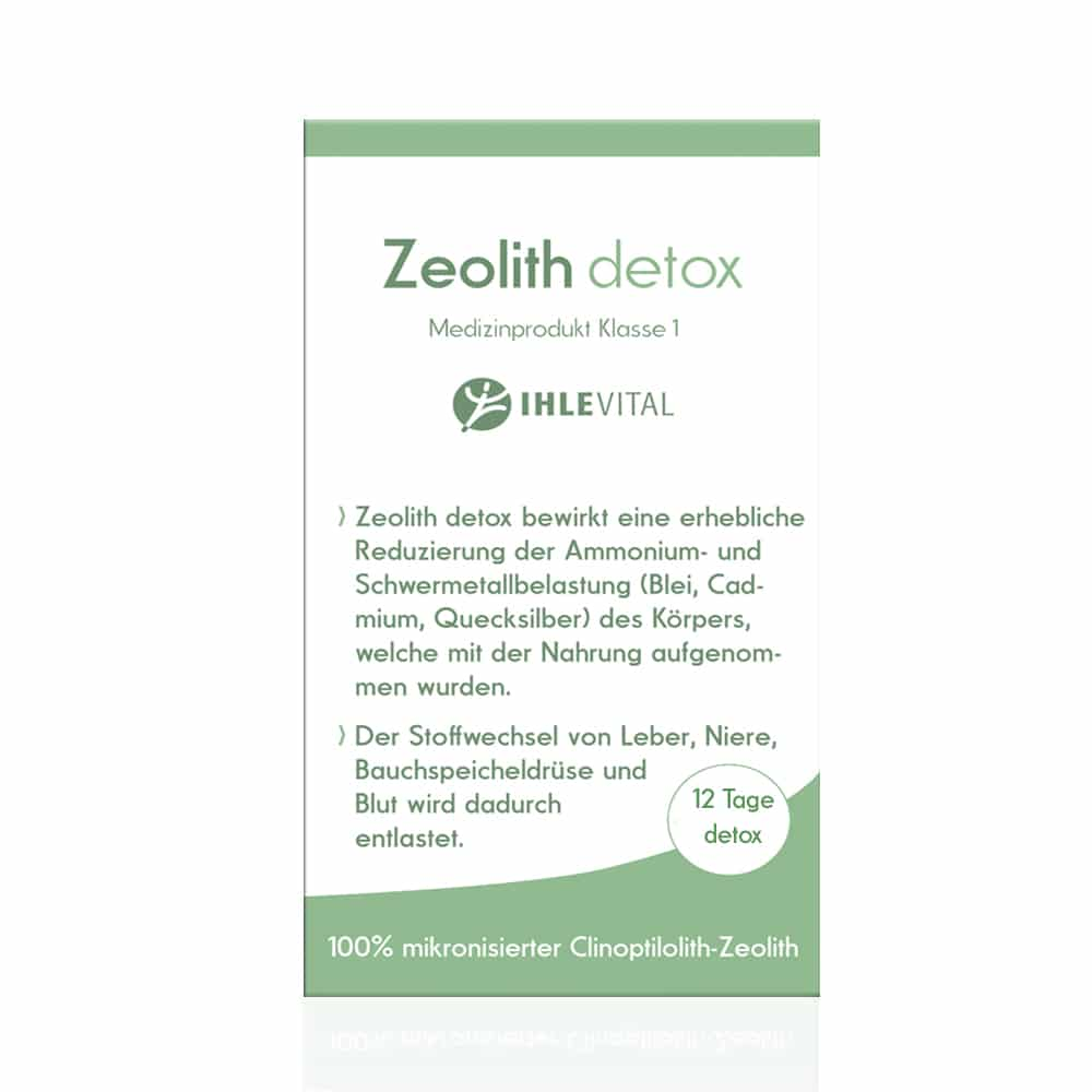 Zeolith, Detox, Medizinprodukt, Klinoptilolith,