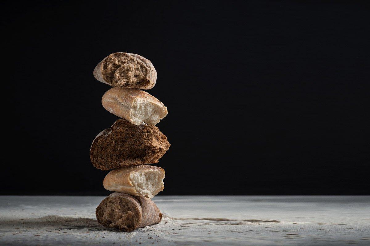 basisches Brot. Basenbrot selber backen