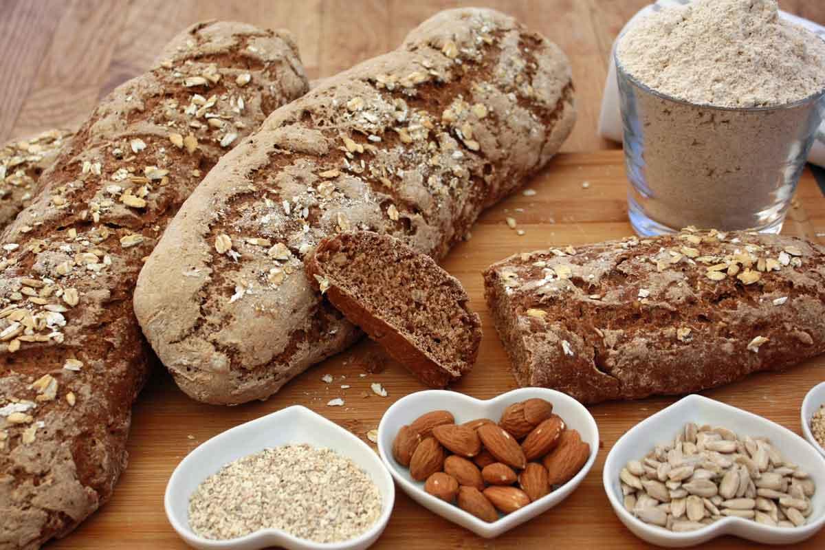 Basenbrot, basisches Brot backen, gekeimtes Getreide, Topinambur