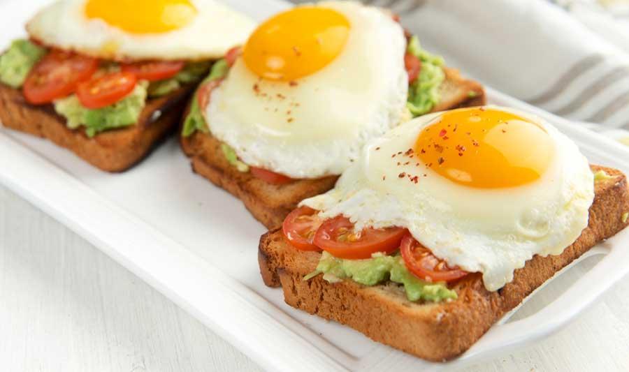 Zeit für das Frühstück