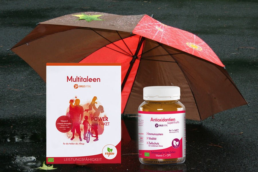 Immunsystem, Multitaleen, Antioxidantien