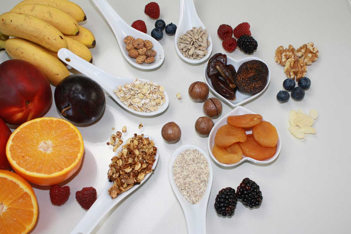 Basisch frühstücken basisches Porridge Basen Müsli basische Haferflocken