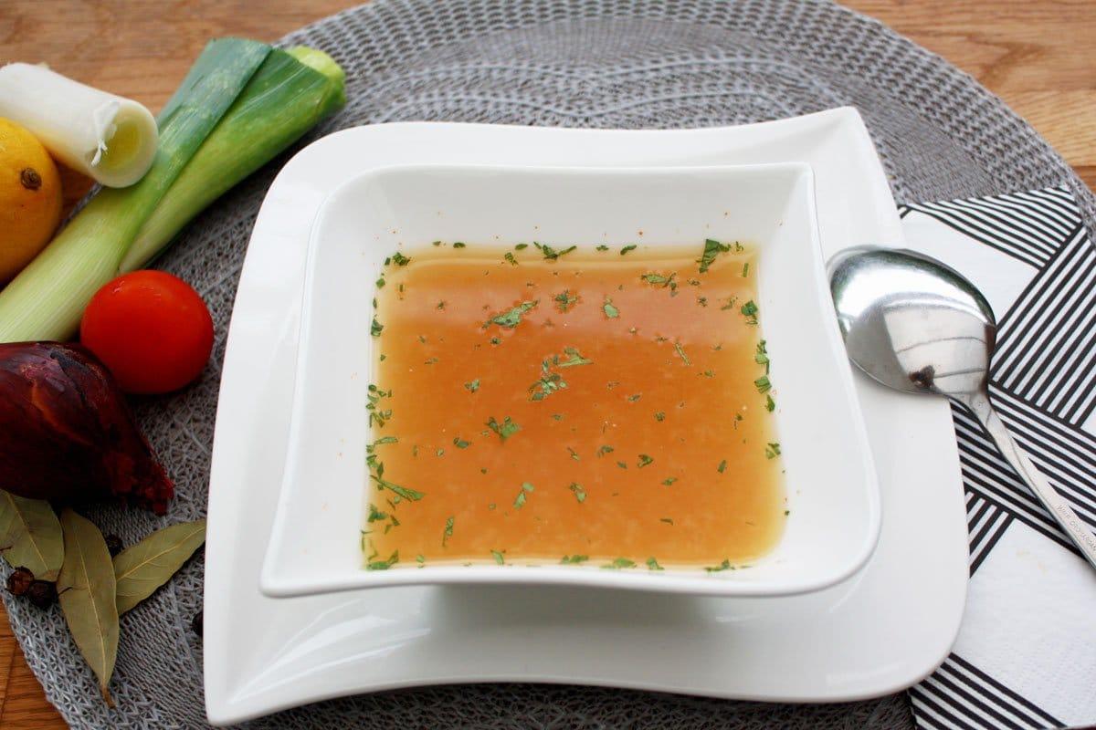 Basen Suppe selbstgemacht- detox