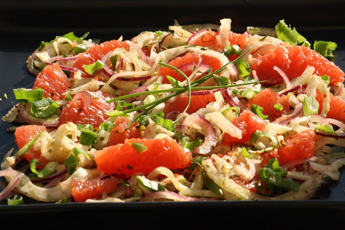 Grapefruit Fenchel Salat