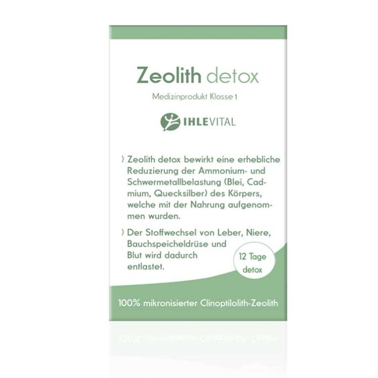 Klinoptilolith, Schwermetalbelastung entgiften, detox Leberdetox