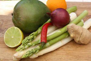 Spargelsalat basisch gesund